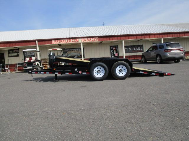 2020 PJ Trailers 16ft Equipment Tilt Utility Trailer