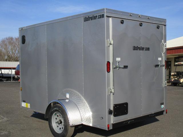 2018 Continental Cargo 6 x 10 SA Enclosed Trailer