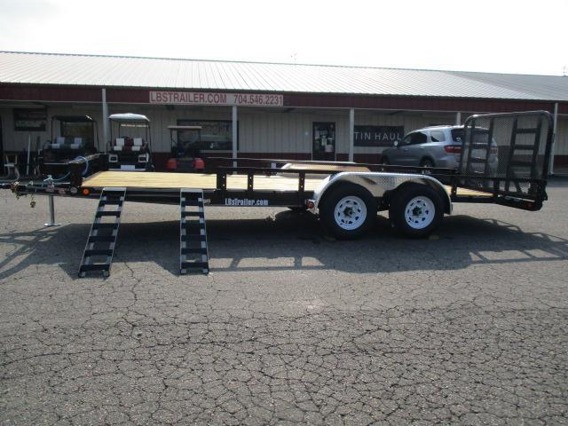 2020 PJ Trailers 20ft x 83in Utility Trailer