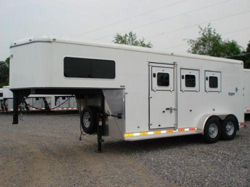 2007 Shadow Trailers GN 3H SL w/Dress Horse Trailer