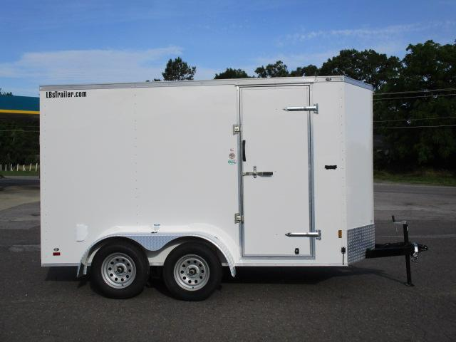 2020 Continental Cargo 6 x 12 Enclosed Cargo Trailer in Crumpler, NC