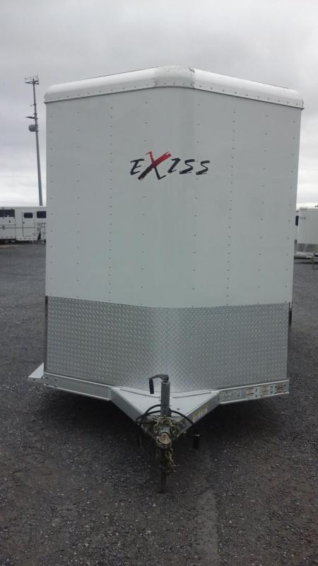 2015 Exiss Trailers 2H SL BP DR Horse Trailer