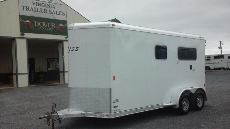 2015 Exiss Trailers 2H SL BP DR Horse Trailer in Ashburn, VA