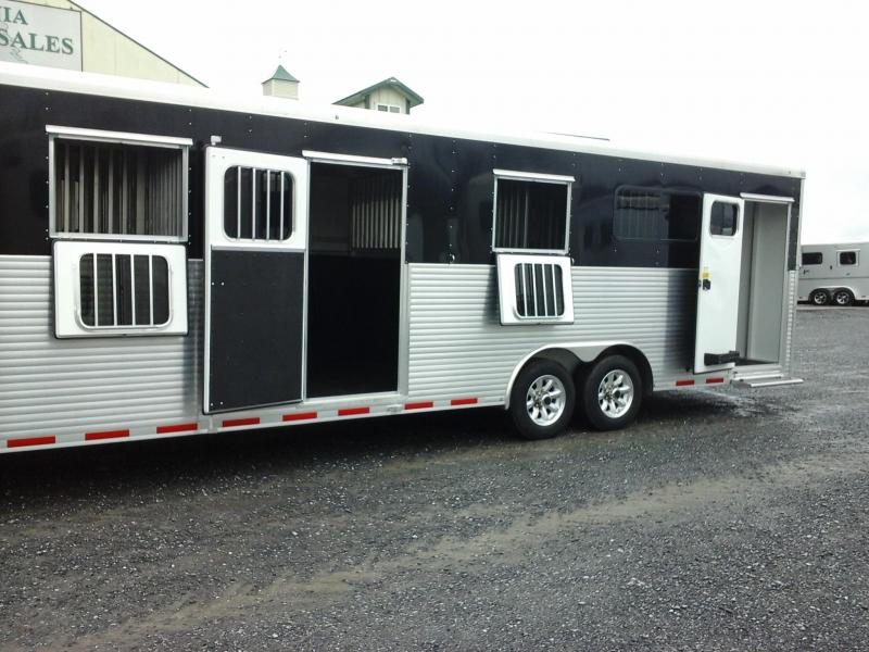 2018 Sundowner Trailers 5H HD-HD Transporter RT Horse Trailer