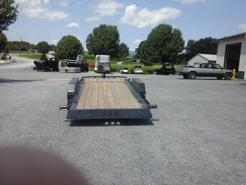 2017 Load Trail 83 x 20 Tandem Axle Low-Pro Tilt Deck Trailer