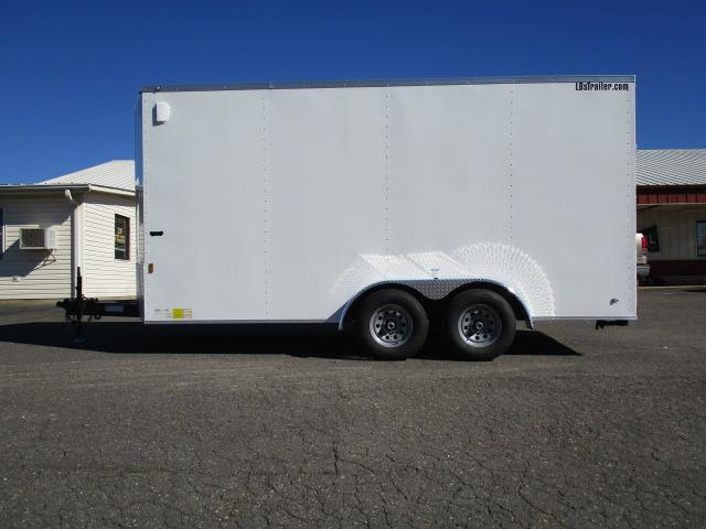 2019 Continental Cargo 7 x 16 Enclosed Cargo Trailer in North Wilkesboro, NC