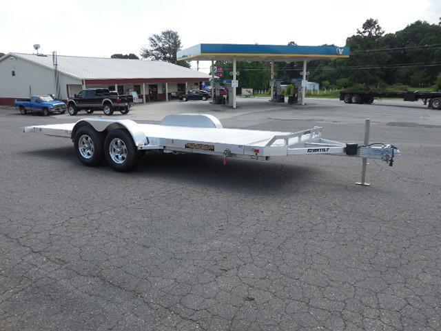 2017 Aluma 8218H Tilt Car / Racing Trailer in Simpsonville, SC