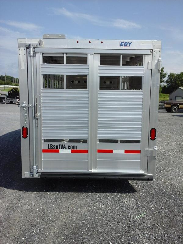 2019 Eby Trailers 16ft Maverick LS Livestock Trailer