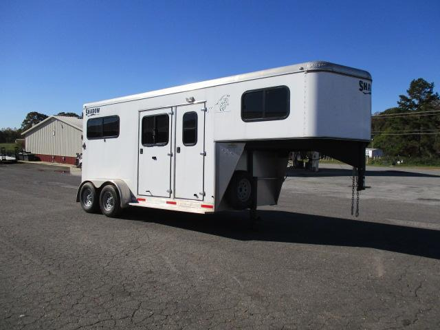 2014 Shadow Trailers 2H Straight Horse Trailer