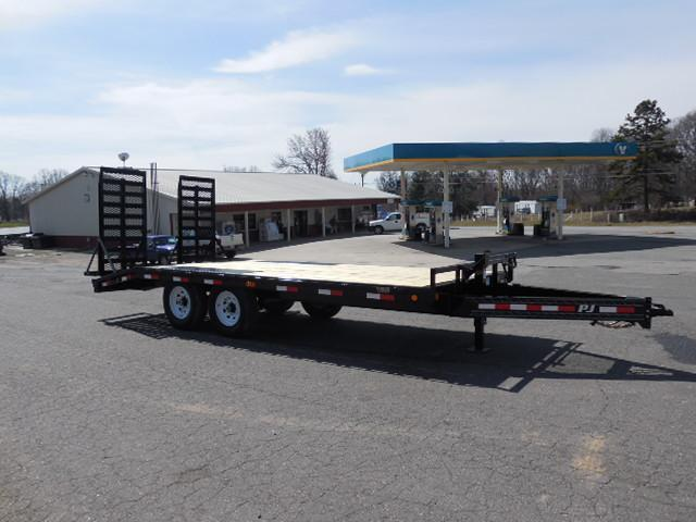 "2016 PJ Trailers BP 18 x 8"" I-Beam Deckover Equipment Trailer in Ashburn, VA"