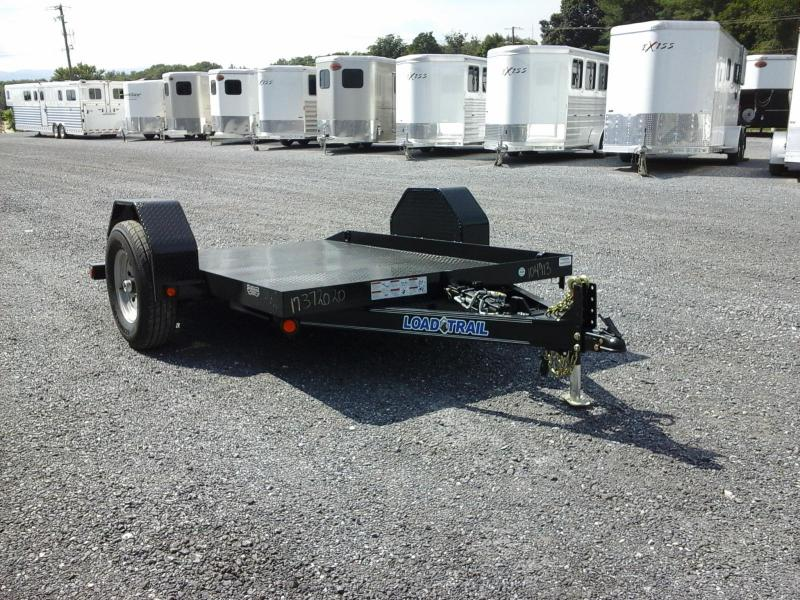 2017 Load Trail 77 x 10 Single Axles Scissor Hauler ATV Trailer