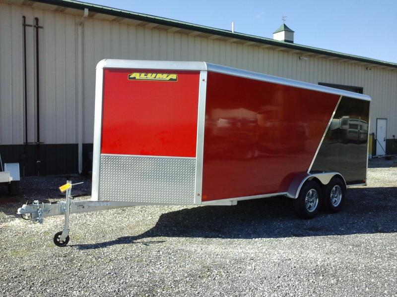 2019 Aluma AE716 TA Enclosed Cargo Trailer in Ashburn, VA