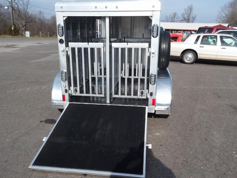 2018 Sundowner Trailers 10ft Mini Stock Livestock Trailer