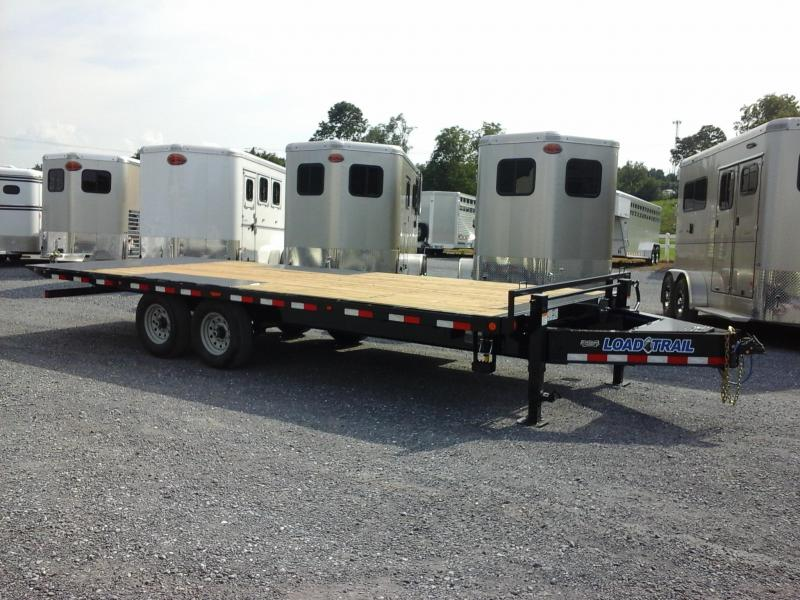 2019 Load Trail 102x22 TA Pintle Hook Tilt Deck Equipment Trailer