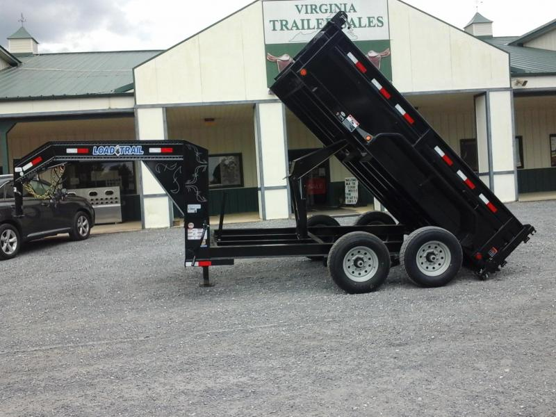 "2017 Load Trail 83"" X 12' Tandem Low Pro Gooseneck Dump Trailer"