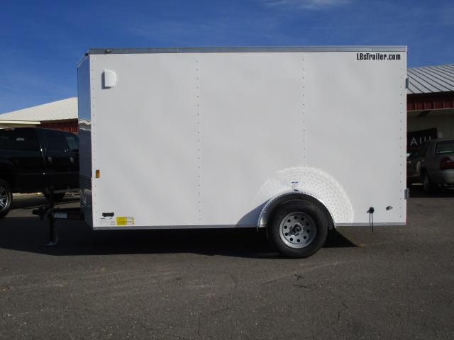 2018 Continental Cargo BP 7 x 12 Enclosed Cargo Trailer