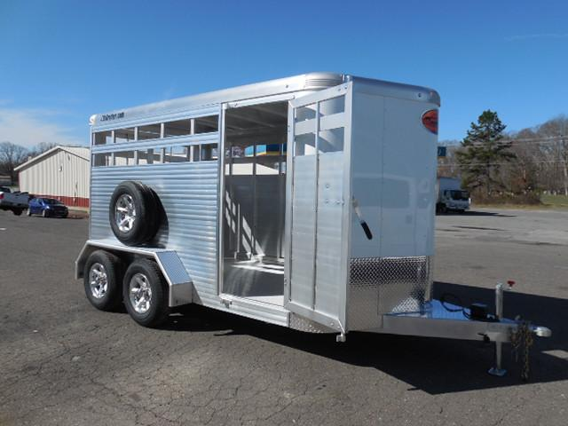 2017 Sundowner Trailers 14ft Stockman XP Livestock Trailer