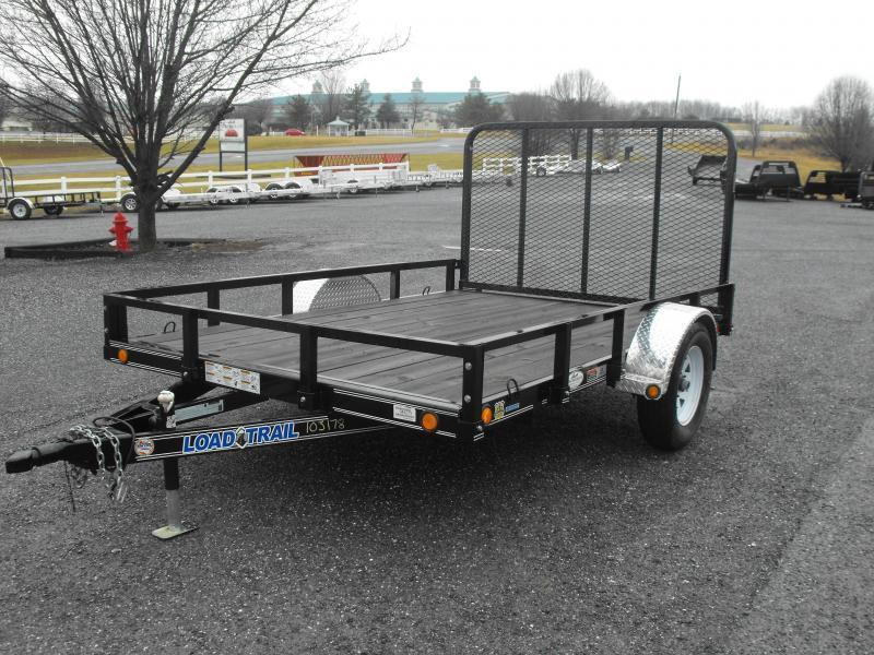 Clearance 2013 Load Trail UT 83 x 10 Utility Trailer in Ashburn, VA