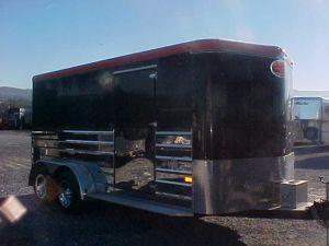 2003 Sundowner Trailers BP 16ft  Motorcycle Trailer