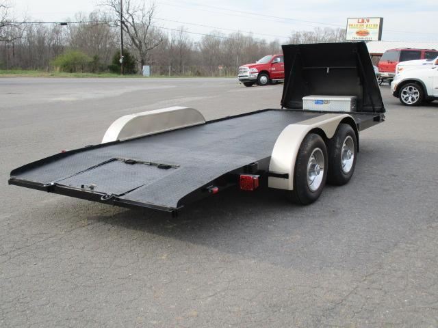 1989 Homemade 16ft Carhauler Car / Racing Trailer