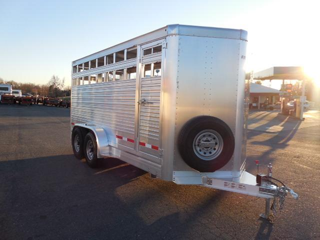 2016 Eby Trailers BP 16ft Maverick Stock / Stock Combo Trailer