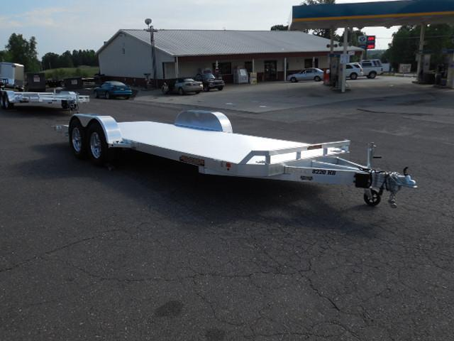 2016 Aluma 8220HB Car / Racing Trailer in White Stone, SC