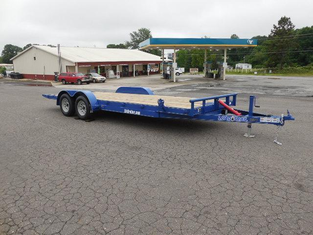 2017 Load Trail 83 x 20 Manual Tilt Deck Car / Racing Trailer