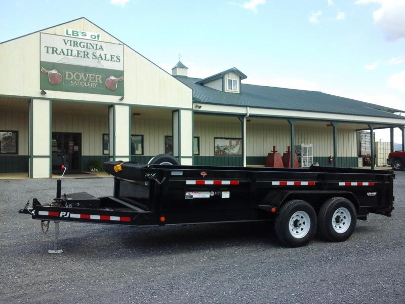 2018 PJ Trailers 83x16 Low Pro Dump Trailer