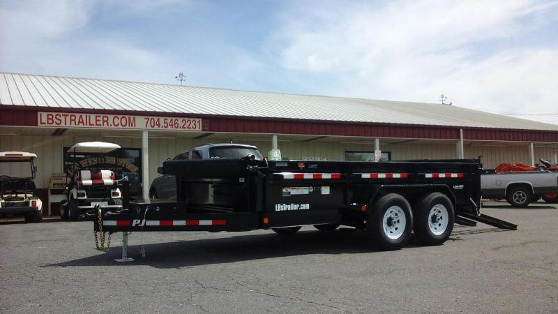 2018 PJ Trailers 14 x 83 Low Pro Dump Trailer