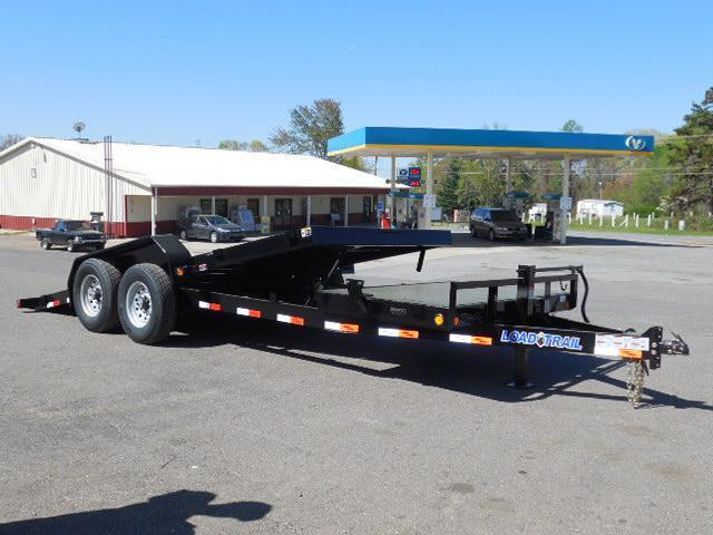 2015 Load Trail 81.5 x 20 Tilt Deck Equipment Trailer