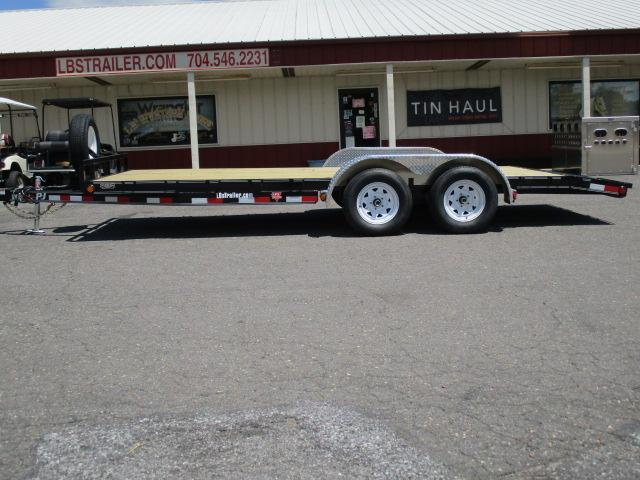 2020 PJ Trailers 18 x 5 Channel CH Car / Racing Trailer