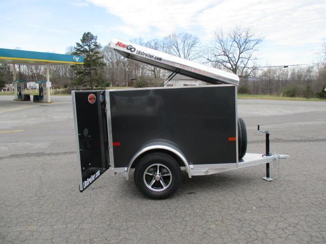 2019 Sundowner Trailers Mini Go 4 x 6 Enclosed Cargo Trailer
