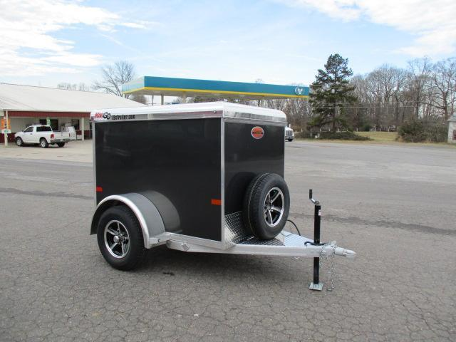 2019 Sundowner Trailers Mini Go 4 x 6 Enclosed Cargo Trailer in Yadkinville, NC