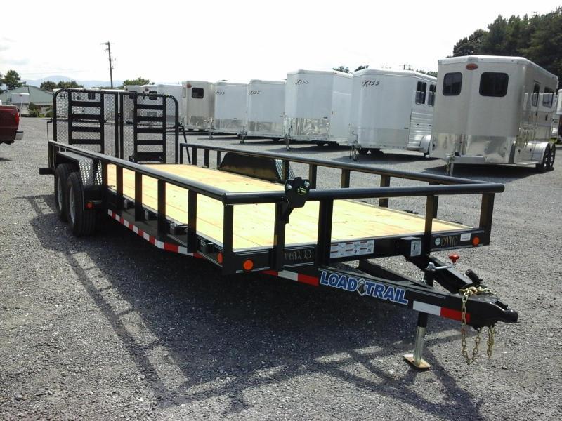 2017 Load Trail 83 x 22 TA Carhauler W/ 5' Channel Frame & Side Rails