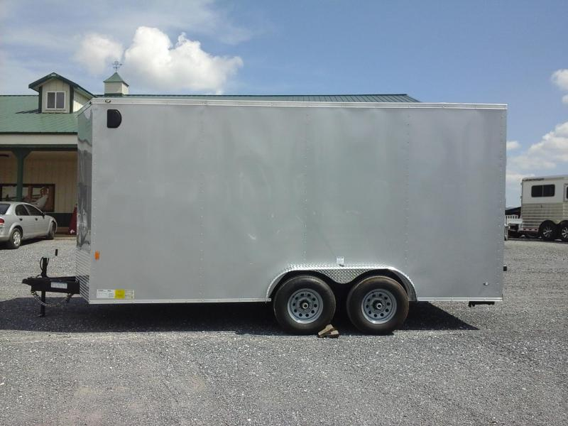 2019 Forest River Inc. 7x16 TA Enclosed Cargo Trailer