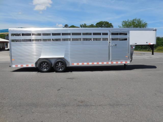 2016 Sundowner Trailers 24ft Rancher Stock / Stock Combo Trailer