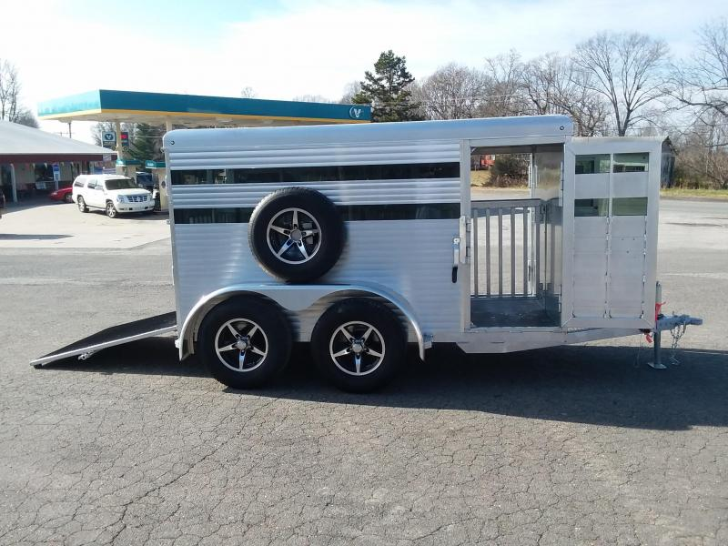 2018 Sundowner Trailers BP 10 Mini Stock Livestock Trailer