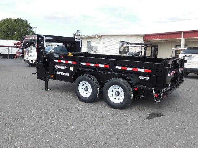 2018 PJ Trailers GN 12 x 83 Low Pro Dump Trailer