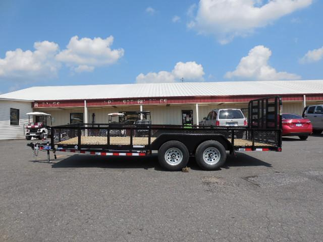2016 Load Trail 83 x 18 TA Car / Racing Trailer in Jonesville, SC