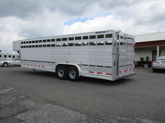 2019 Eby Trailers 26ft Ruff Neck Livestock Trailer