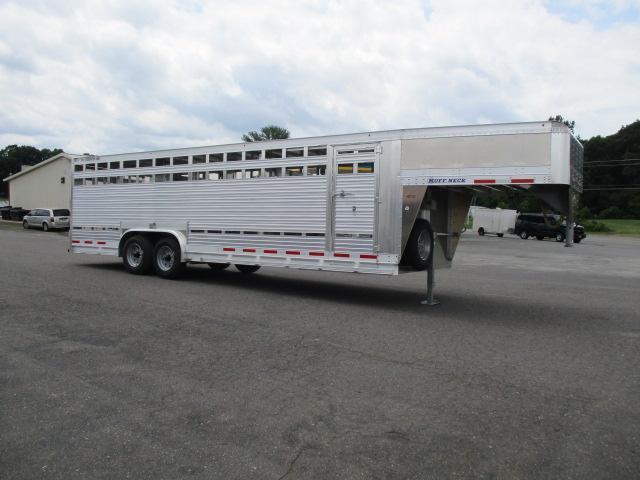 2019 Eby Trailers GN 26ft Ruff Neck Livestock Trailer