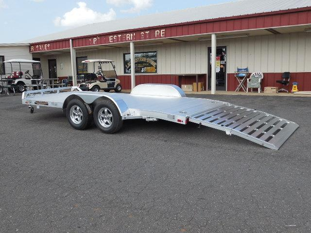 2016 Aluma 8216B Car / Racing Trailer in White Stone, SC