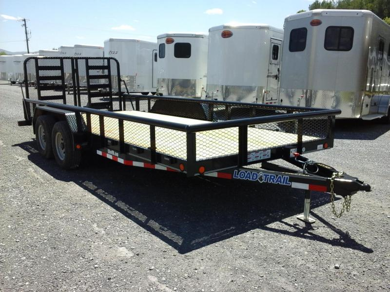 2017 Load Trail 8318 Car / Racing Trailer