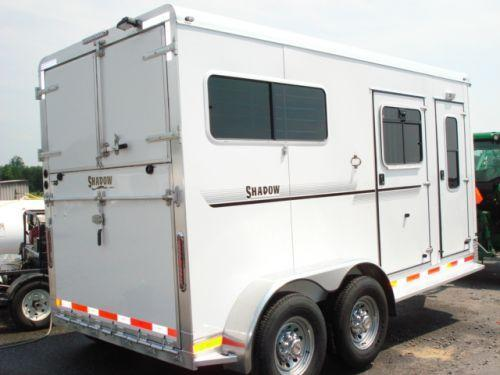 2009 Shadow Trailers 2H Straight w/Dress Horse Trailer in Ashburn, VA