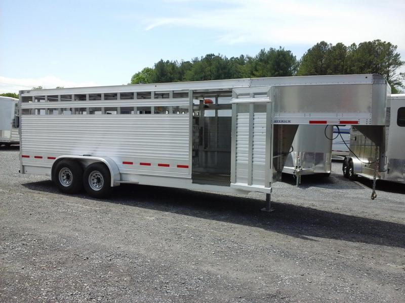 2018 Eby Trailers GN 20ft Maverick Livestock Trailer