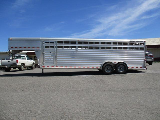 2014 Elite Trailers 7 X 24 Livestock Trailer