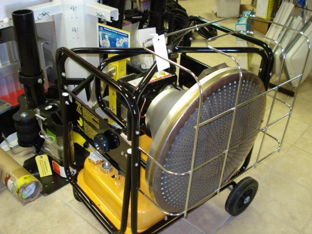 2015 VAL6 KBE5S Infrared Heater Utility Trailer