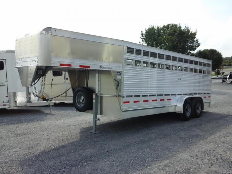 2019 Eby Trailers 20ft Maverick Livestock Trailer in Ashburn, VA