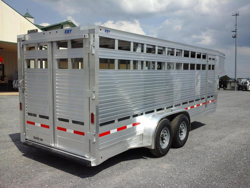 2019 Eby Trailers 20ft Maverick Livestock Trailer