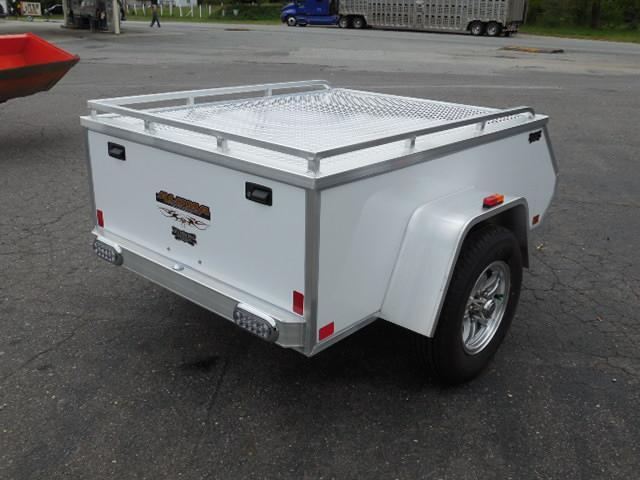 2015 Aluma BP AE46 Motorcycle Trailer
